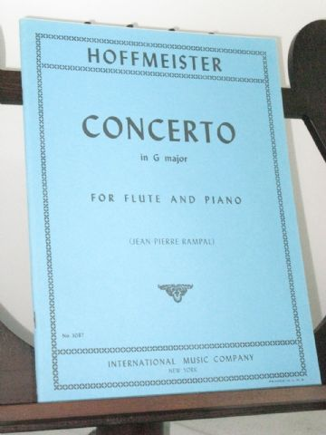 Hoffmeister F A - Concerto in G Major for Flute & Piano